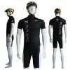 Black Youth Custom Dye Sublimation Cycling Uniform