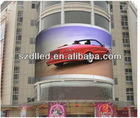 DL professional manufacture of P20 LED display factory of P20 full color LED display P20 outdoor LED display manufacture