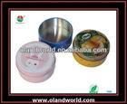 Elegance Metal Round Tin Can / Container/ Box with Transparent Window for Cookies/Candy/Coffee
