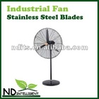 POWERFUL INDUSTRIAL PEDESTAL FAN WITH STAINLESS STEEL BLADES