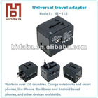 Worldwide Universal Travel Adapter plug with dual USB port AU/US/UK/ EU