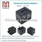 Worldwide Universal Travel Adapter plug with dual USB port AU/US/UK/ EU