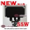 55W 9-32V Newest hid Work Light (shockproof)