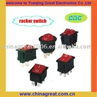 red rocker switch ROCKER SWITCH SERIES 12v rocker switch
