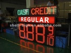16 inch led oil sign with outdoor waterproof IP65