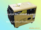 hot sale portable air cooled diesel generator silent type 5kw