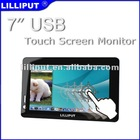 """7"""" USB Touch Monitor with 2 Built-in Speakers"""