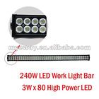 LED Work Light / LED Light For Mine / Off-Road Light / ATV 240W 3Wx80LED