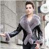2011 wholesale lady fashion fur coat