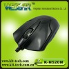 FASHINABLE with usb /ps2 connector optical mouse