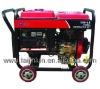 Air-cooled diesel generator set