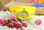 promotional silicone sports band watch with customized logo