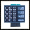 Custom Polyester Matrix illuminated Membrane Keypad for Door System