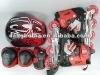 Inline skate + protective + helmet sets