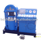Wire rope loop maker, hydraulic press machine