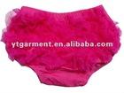 Roseo lace cotton ruffle bloomersYT-TB0039