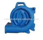 Rotational moulding blower case shell rotomolded products