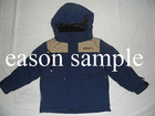Blue warm ski jacket for boy