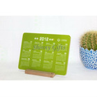 2013 design wall calendar with acrylic and wooden materialsSI-20120121