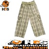 woven check pants HSC110435