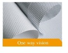 one way vision window film (perforated vinyl film)