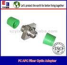 FC SX APC optical fiber adapter