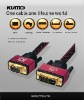 DVI to VGA cable,DVI male to HD15pin female cable