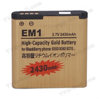 E-M1 Battery Replacement for BlackBerry Curve 9350 9360 9370,Actual Capacity 9800mAh (high capacity)
