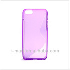for iPhone 5 anti-skidding TPU cover