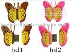 4GB 4G butterfly USB 2.0 Flash Memory Stick Pen Drive-