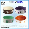 Ceramic Pet Bowl For Food And Water (DS-P1201)