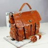 Stock PU Lady Fashion Handbag