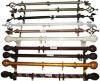 Aluminum curtain rod/pole/tracks