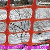 Plastic snow fence