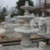 Granite stone water fountain