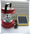 Portable 4 led Solar Charger lantern Split type
