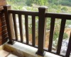 WPC rail.Wood rail, Wood composite rail, WPC fence