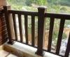 WPC rail.Wood rail, Wood composite rail, WPC fence