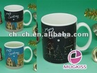 sublimation promotional biscuit mug wedding gifts for guests magic promotion gift christmas gift birthday souvenirs sublimation