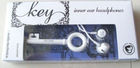 New design Key Earphone