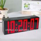 Led Digital Alarm Clock Table Clock liquid timer