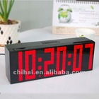 Led Digital Alarm Clock Table Clock liquid timer