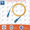 SC/PC Fiber Optic Patch Cord, Single Mode, Simplex