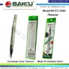 Resistant Carbon Fiber and can Exchange Head Tweezer BK-EC-259A