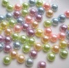 flat back pearl mixed colors