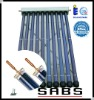 metal glass heat pipe MGV solar collector
