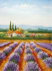 Lavender purple flower handmade oil painting