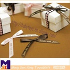 personalized wedding favors name gift wrapping printed ribbon