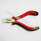 style 9 smooth bend head hair plier Hair Extension Tools Kits for micro rings/beads & Feather hair hair accessories