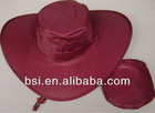Foldable hat/folding hat/promotion hat/nylon hat/foldable hat